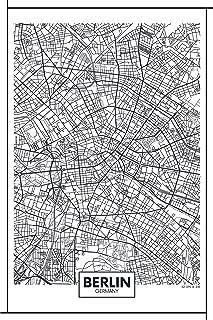 berlin map print