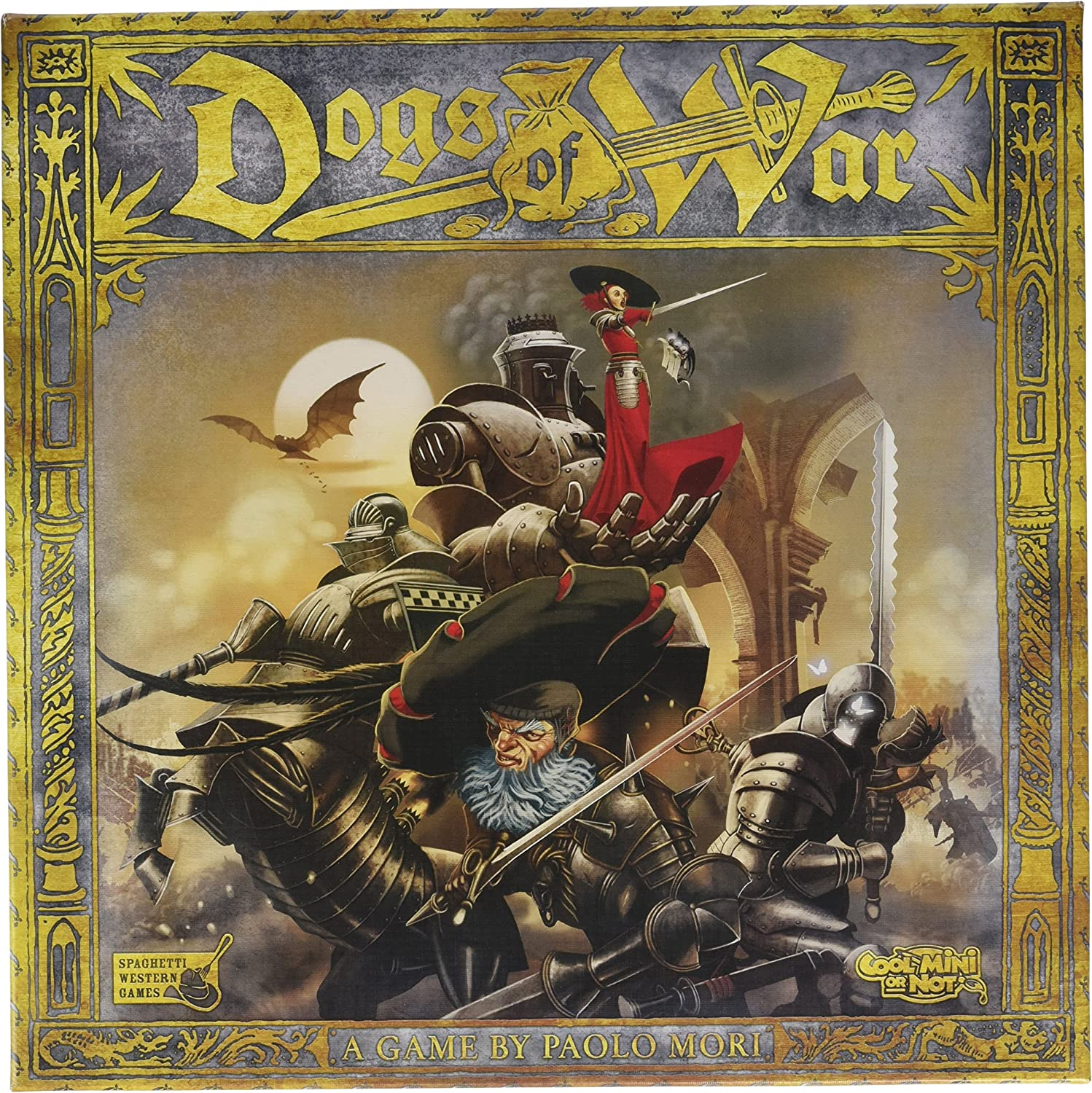 Cool Mini or Not Dogs of War  Core Board Game