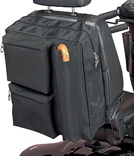Homecraft Deluxe Roller Bag, zakken met ritssluiting voor gewatteerde opslag, waterdicht polyester, opslag voor krukken en...