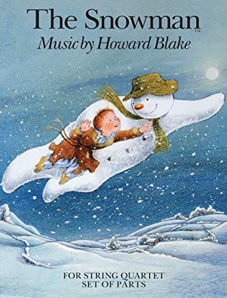 Howard Blake: the Snowman for String Quartet (Parts)