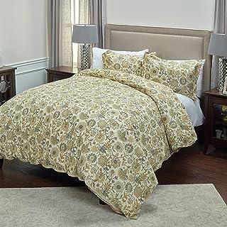 Rizzy Home Comforter Set, CFSBC4222TNBE1498, Tan, Queen