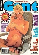 Gent Adult Magazine January 1998 Super D-Cupper Erika