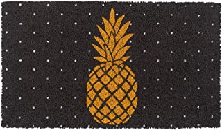 New KAF Home Coir Doormat with Heavy-Duty, Weather Resistant, Non-Slip PVC Backing | 17 by 30 Inches, 0.6 Inch Pile Height...