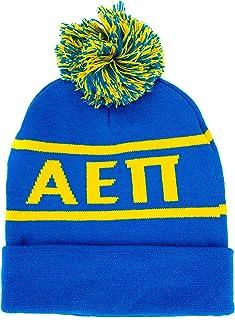 Desert Cactus Alpha Epsilon Pi Letter Beanie Hat Greek Cold Weather Winter aepi