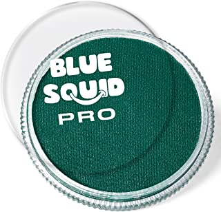 Blue Squid PRO Face Paint - Classic Forest Green (30gm), Quality Professional Water Based Single Cake, Face & Body Makeup ...