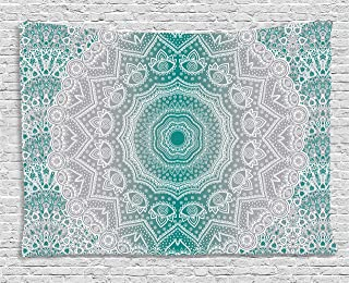 Best teal and grey tapestry Reviews