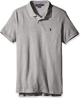 U.S. Polo Assn. Mens Classic Small Pony Solid Pique Polo Shirt