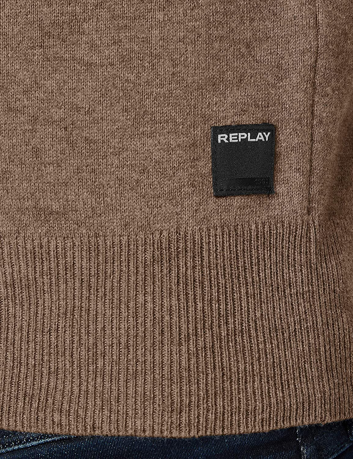 Replay Pull-Over Homme Gm21 Bark Mélange