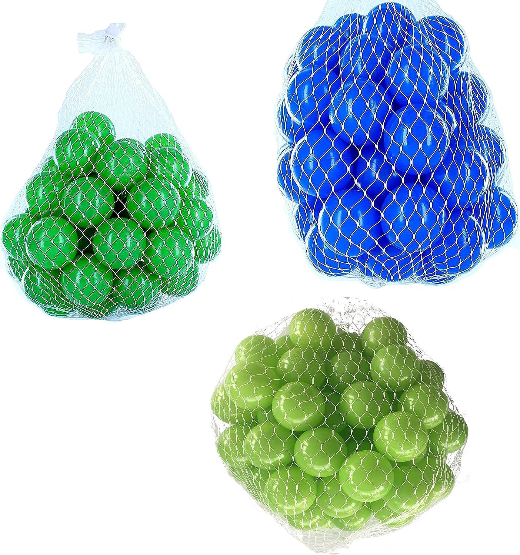 más orden Pelotas para pelotas baño variadas Mix con verde claro, claro, claro, azul y verde Talla 2100 Stück  ahorra hasta un 50%