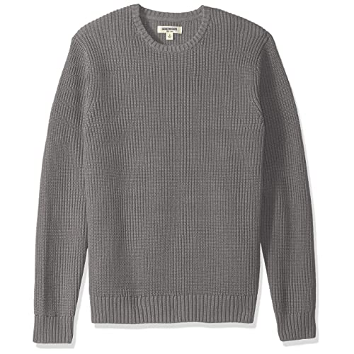 0f66c0a2554c Goodthreads Men s Soft Cotton Rib Stitch Crewneck Sweater