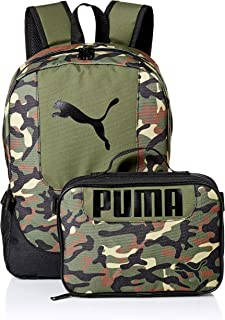 Kids' Big Lunch Box Backpack Combo, Olive, Youth Size