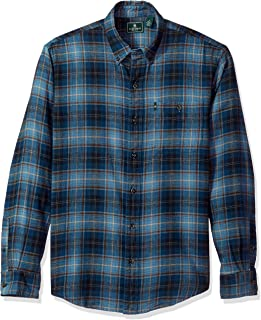 G.H. Bass & Co. Men's Fireside Flannels Long Sleeve Button Down Shirt