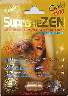 Supreme Zen Gold 3500mg Male Sexual Performance Enhancement 100% Authentic (1)