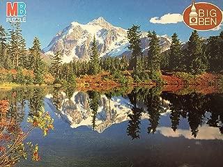 Vintage 1986 MB Big Ben - 1000 Piece Jigsaw Puzzle - Mount Shuksan Washington