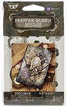 """Finnabair Decor Moulds 3.5""""X4.5""""-Flower Queen"""