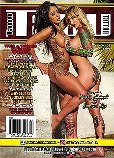 TABU TATTOO Magazine 2019 Issue 64 PRINCESS PINEAPPLE & SAMANTHA RIZZO Cover, Dino Helvida, Brenda Swan, E. L. Dicipline, Luka Dias