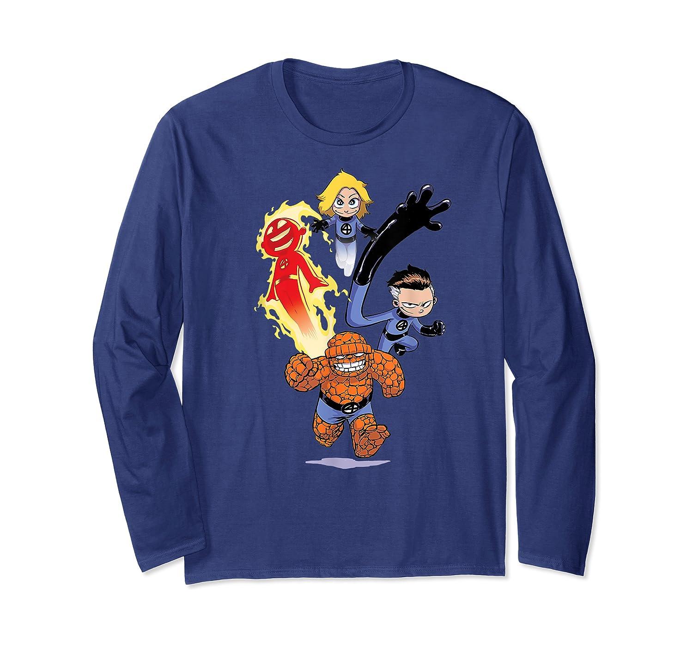 Fantastic Four Shirts Long Sleeve T-shirt