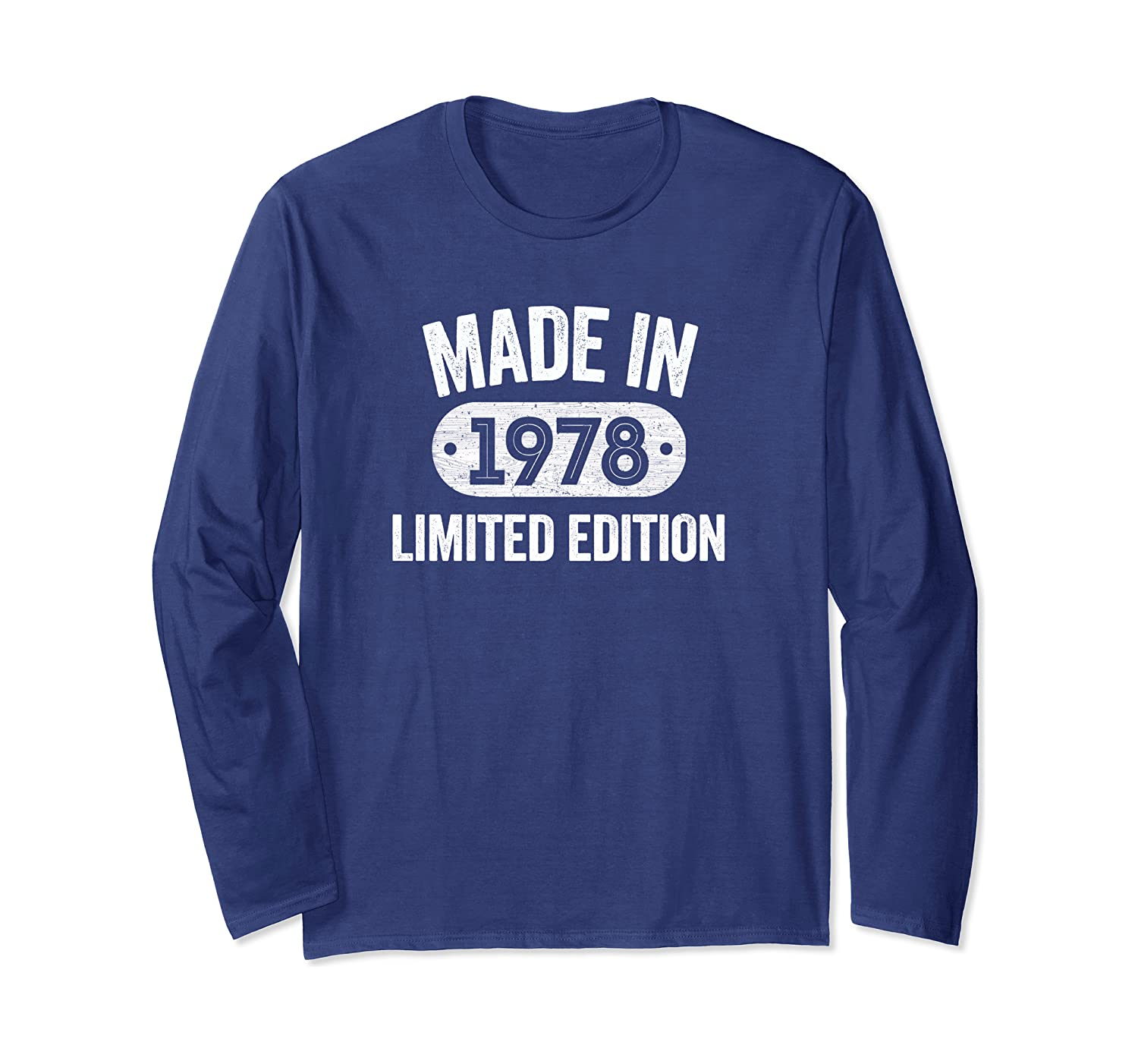 Made In 1978 42nd Birthday Gifts Tee Long Sleeve T-Shirt