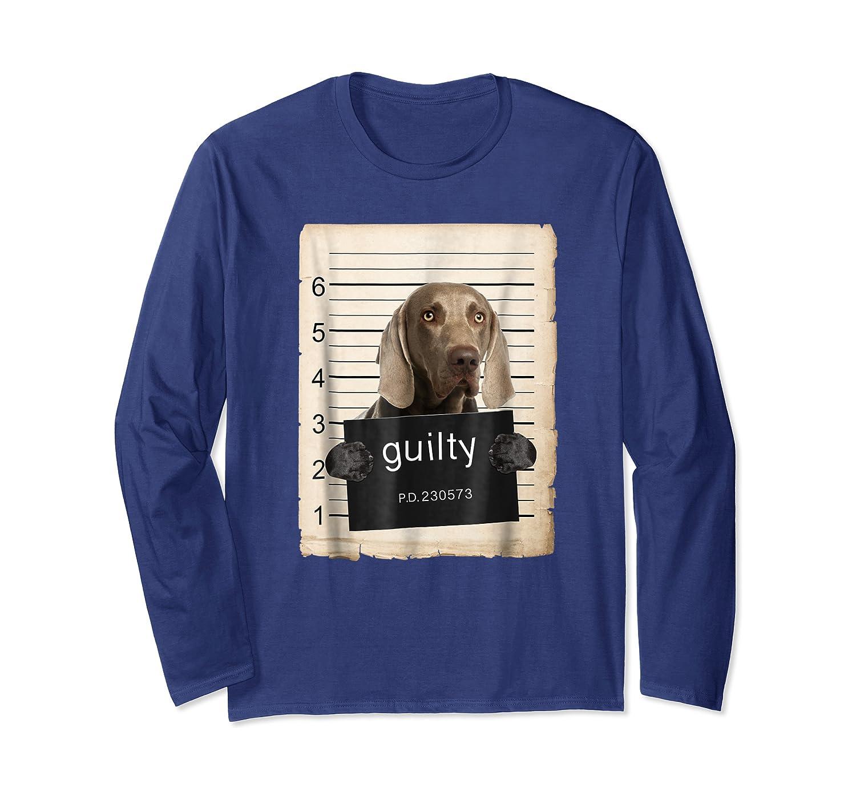 Weimaraners Dog Mug Sho Shirts Long Sleeve T-shirt