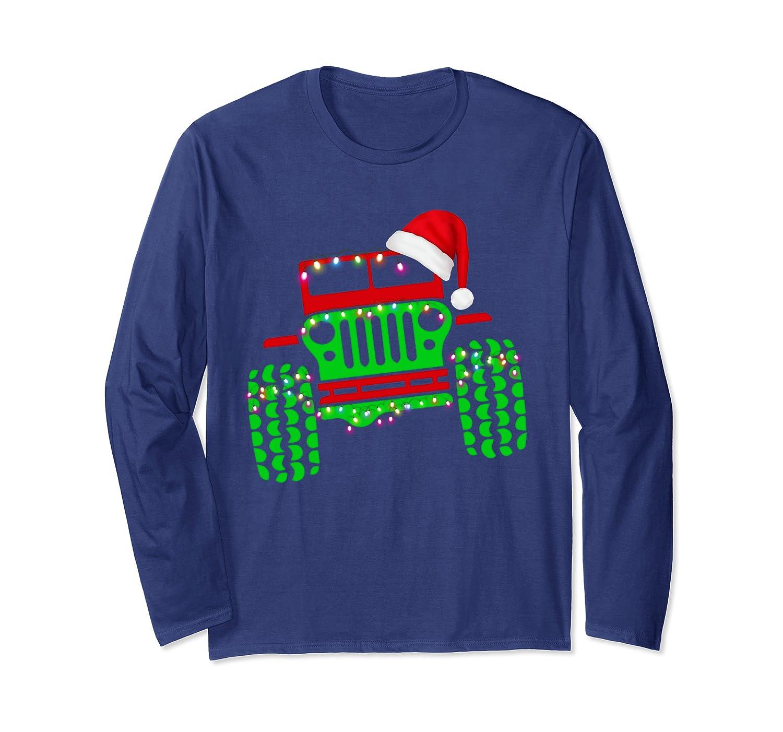 Merry Jeepmas Jeep-mas Jeeps Lover : Funny Christmas Gift Long Sleeve T-Shirt