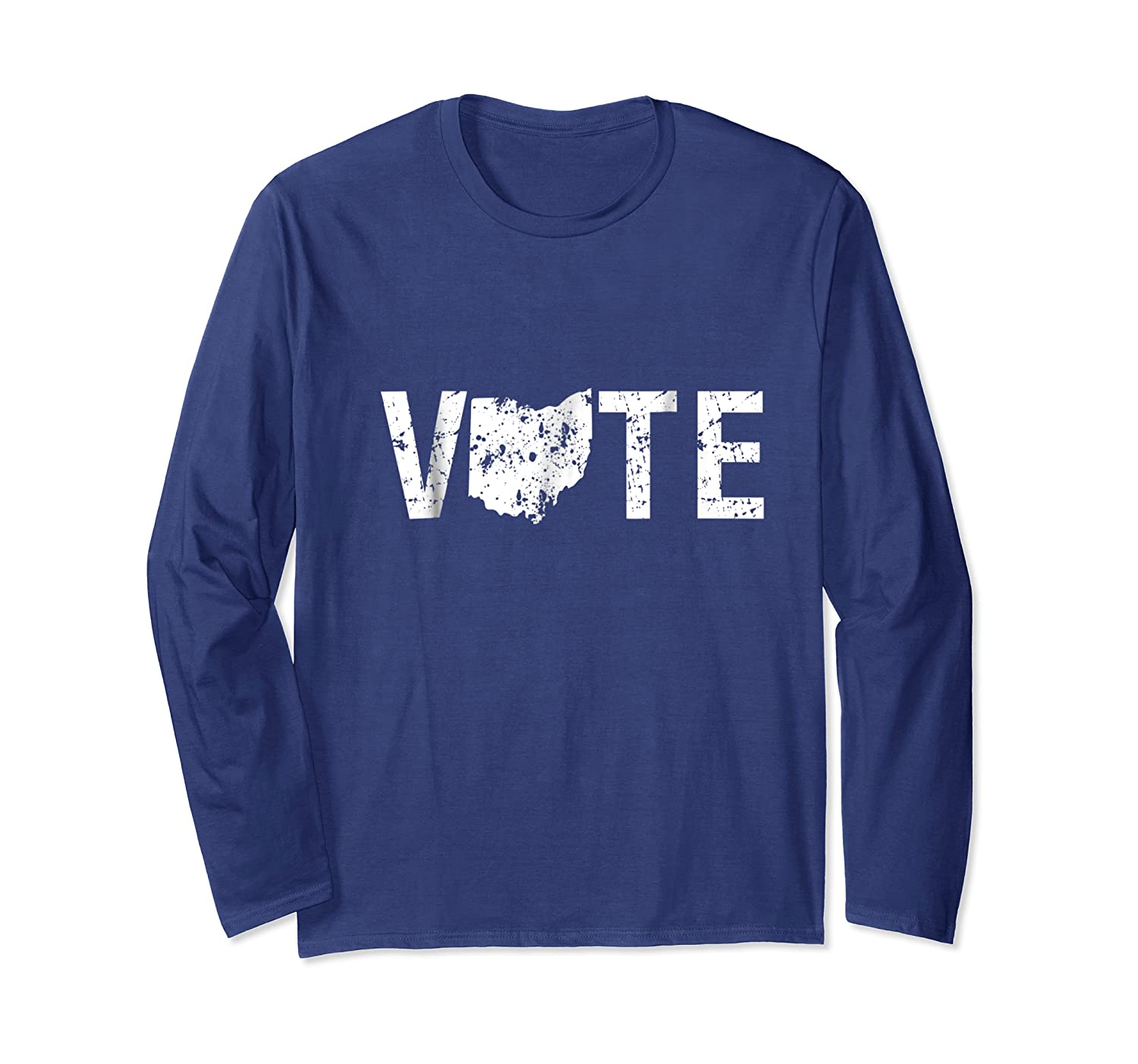 Vote Ohio Election Day State Shirt Long Sleeve T-shirt
