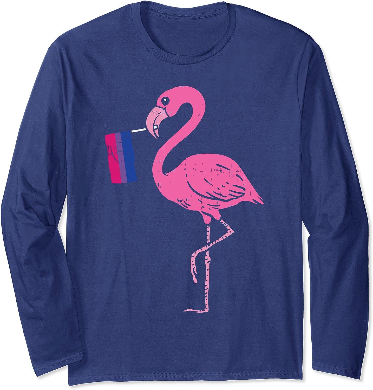 Amazon Com Flamingo Bird Bisexual Pride Flag