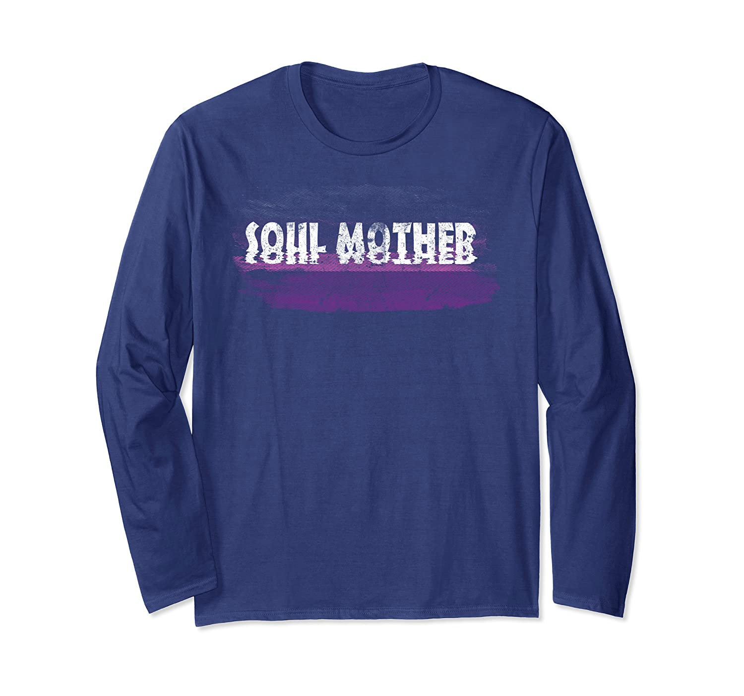 Soul Mother Distressed Long Sleeve T-Shirt