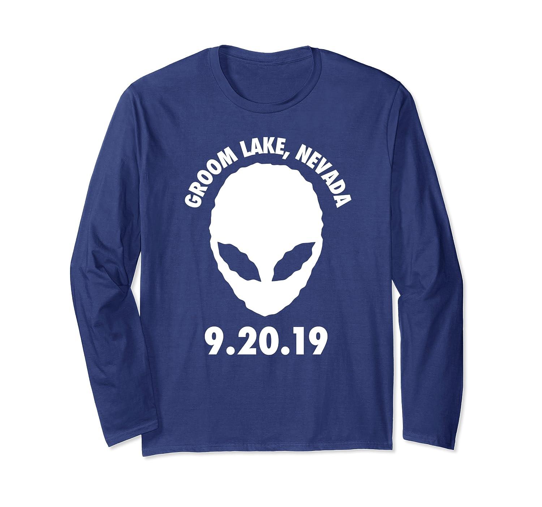 Alien Stock Groom Lake Nevada 9.20.19 Long Sleeve T-Shirt