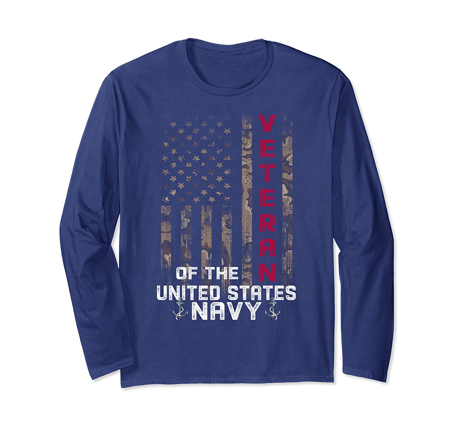 Veteran of the United states Navy – US Navy Veteran Long Sleeve T-Shirt