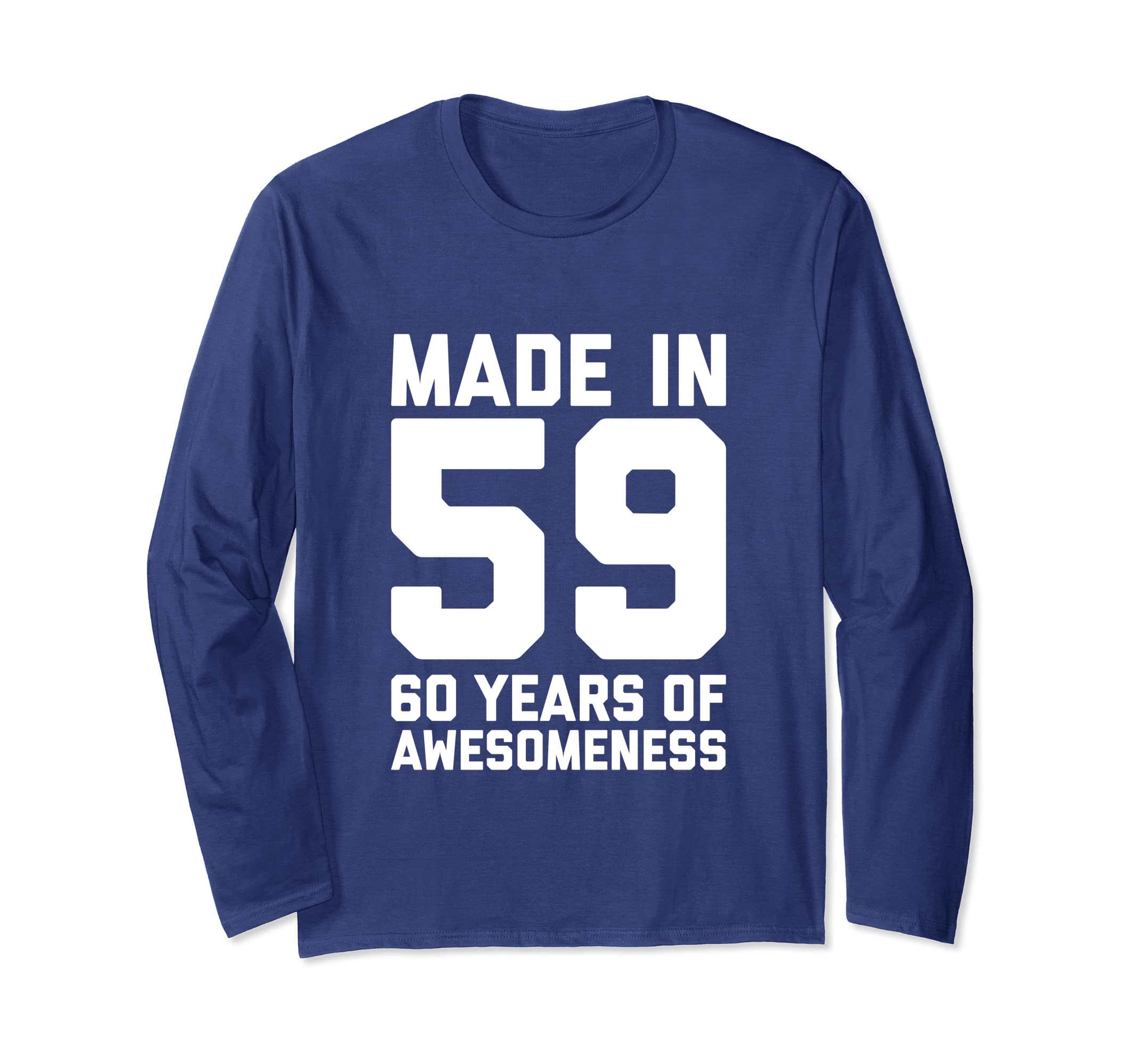 Amazon 60th Birthday Long Sleeve Women 60 Year Old Grandma Mom Gift Clothing