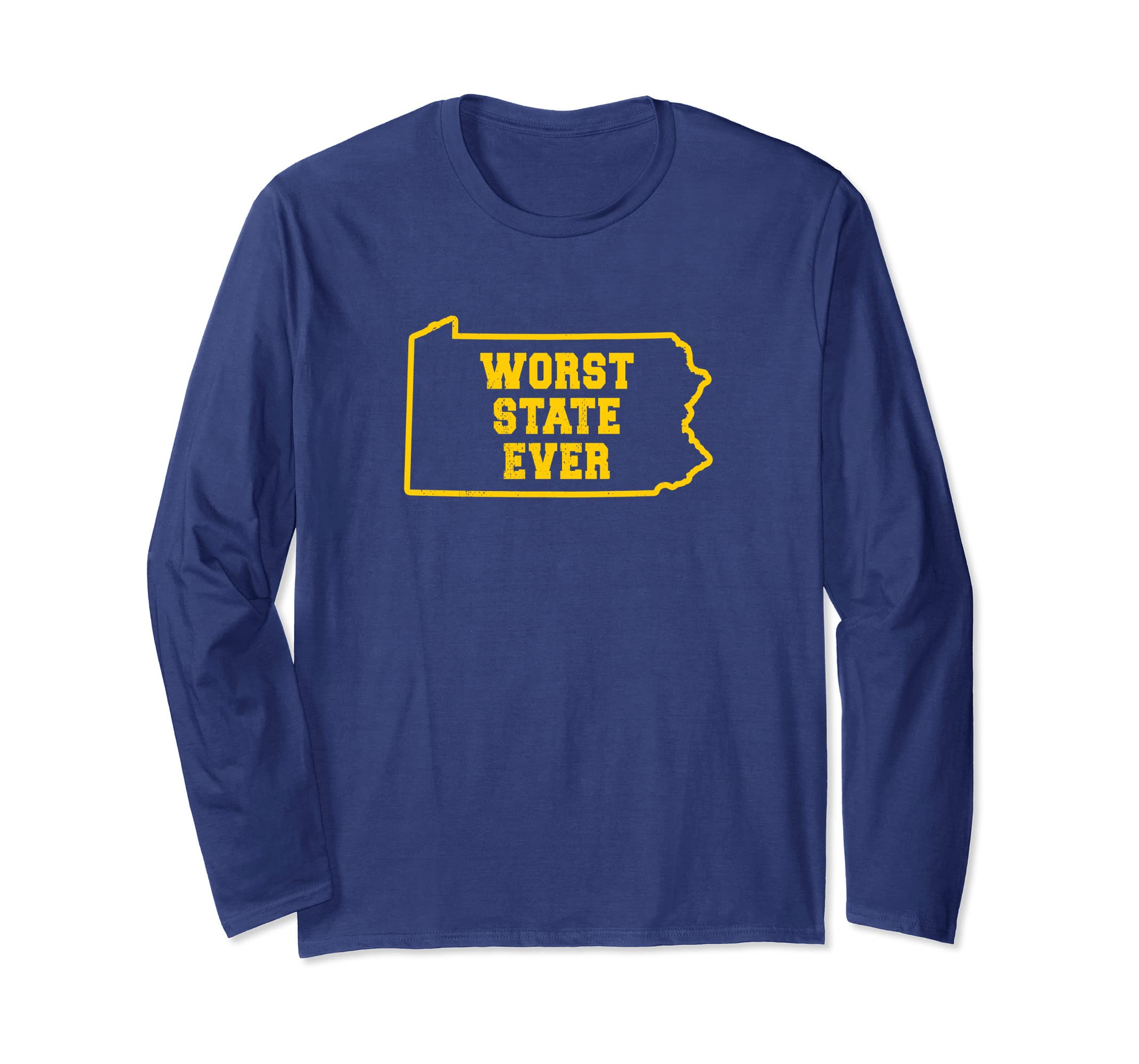 Worst State Ever   PA   Armpit of the Union T Shirt-ln