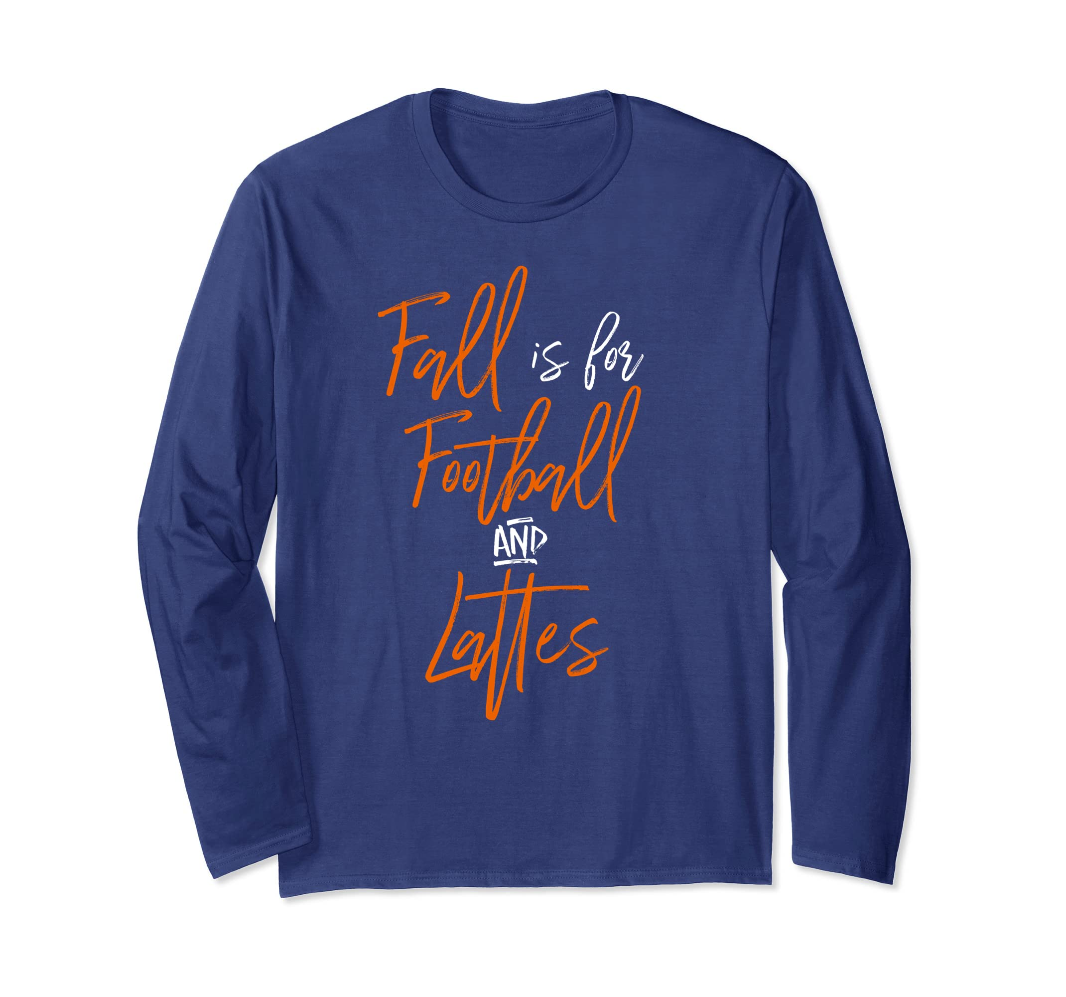 c47b73ab Fall Is For Football And Lattes T-Shirt Coffee Cute Sports-ANZ ...