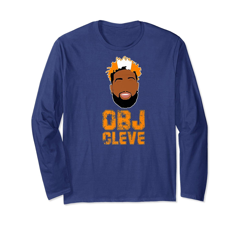 Football Obj Cleveland Shirts Long Sleeve T-shirt