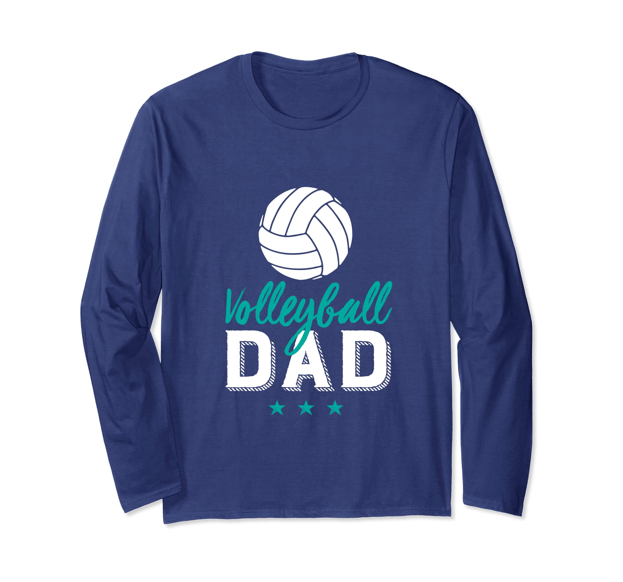 Volleyball Dad T shirt Proud Father and Sports Parents-ln