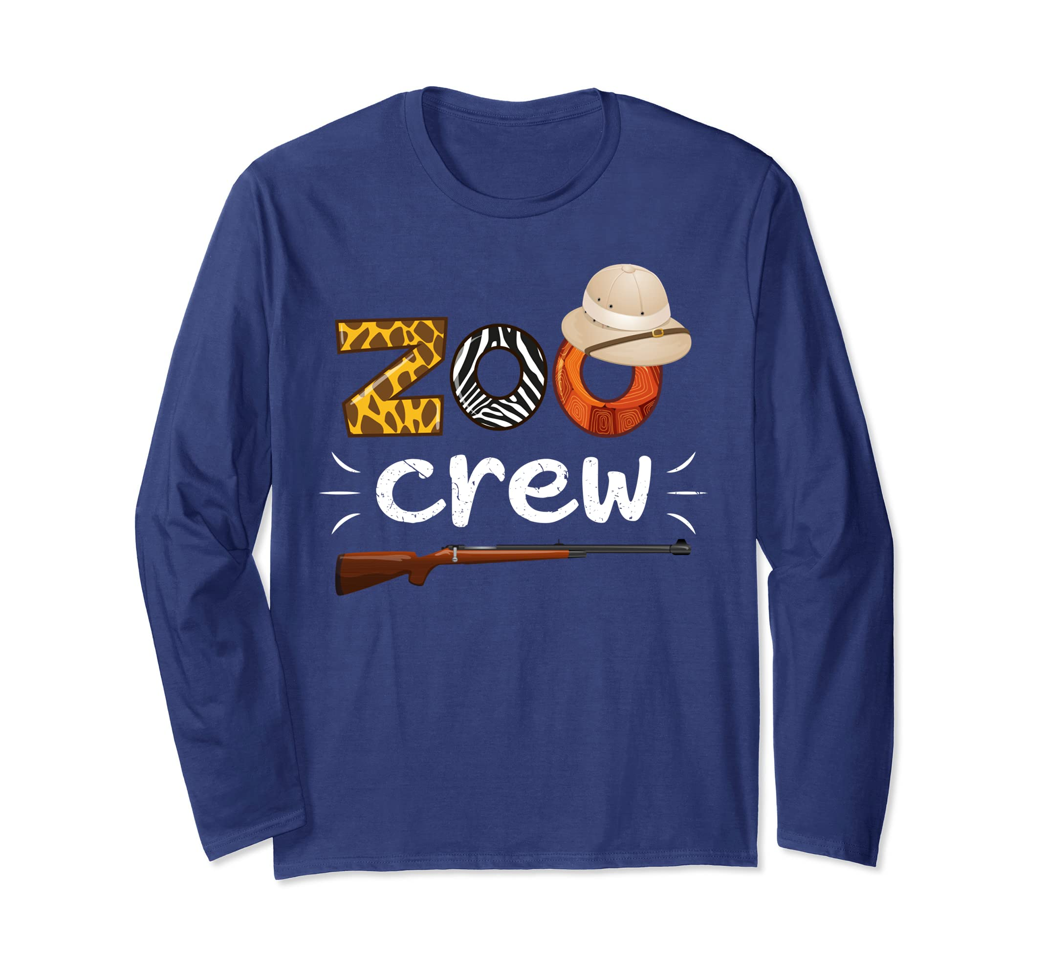 Amazon Zoo Crew Tshirt For Workers Safari Animals Lover Shirt Clothing