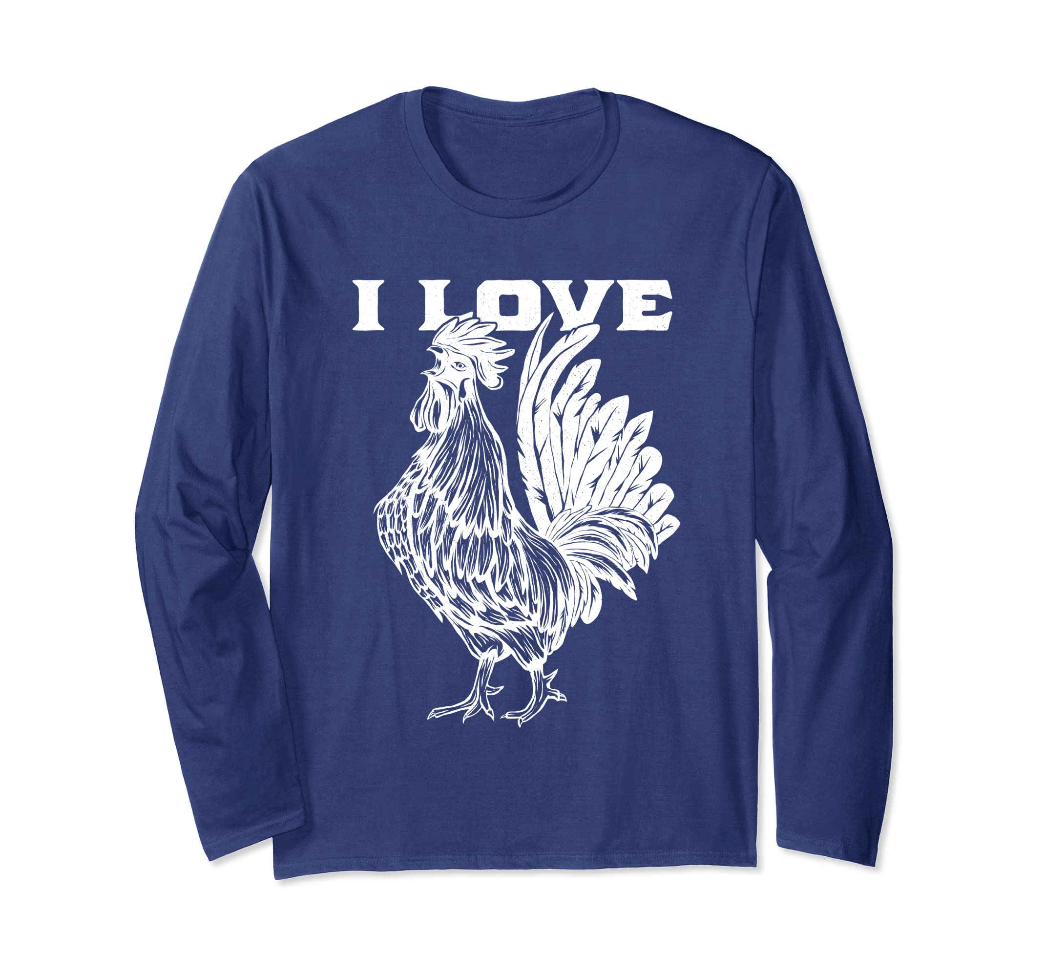 f32db7b2c Amazon.com: Funny I Love Cock Shirt Rooster Lover I Love Roosters: Clothing