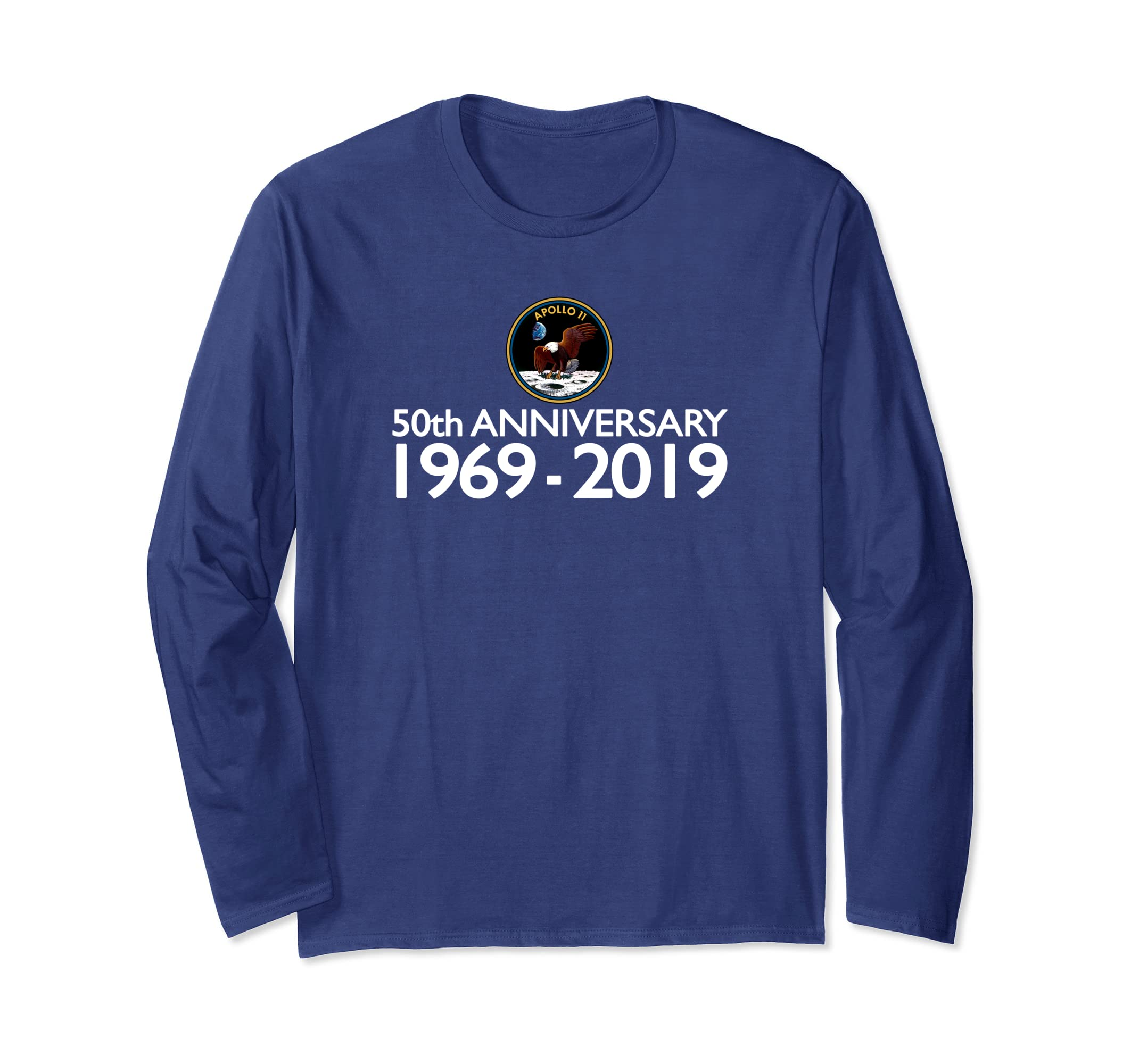 5e014eaf Amazon.com: Apollo 11 50th Anniversary Moon Shirt: Clothing