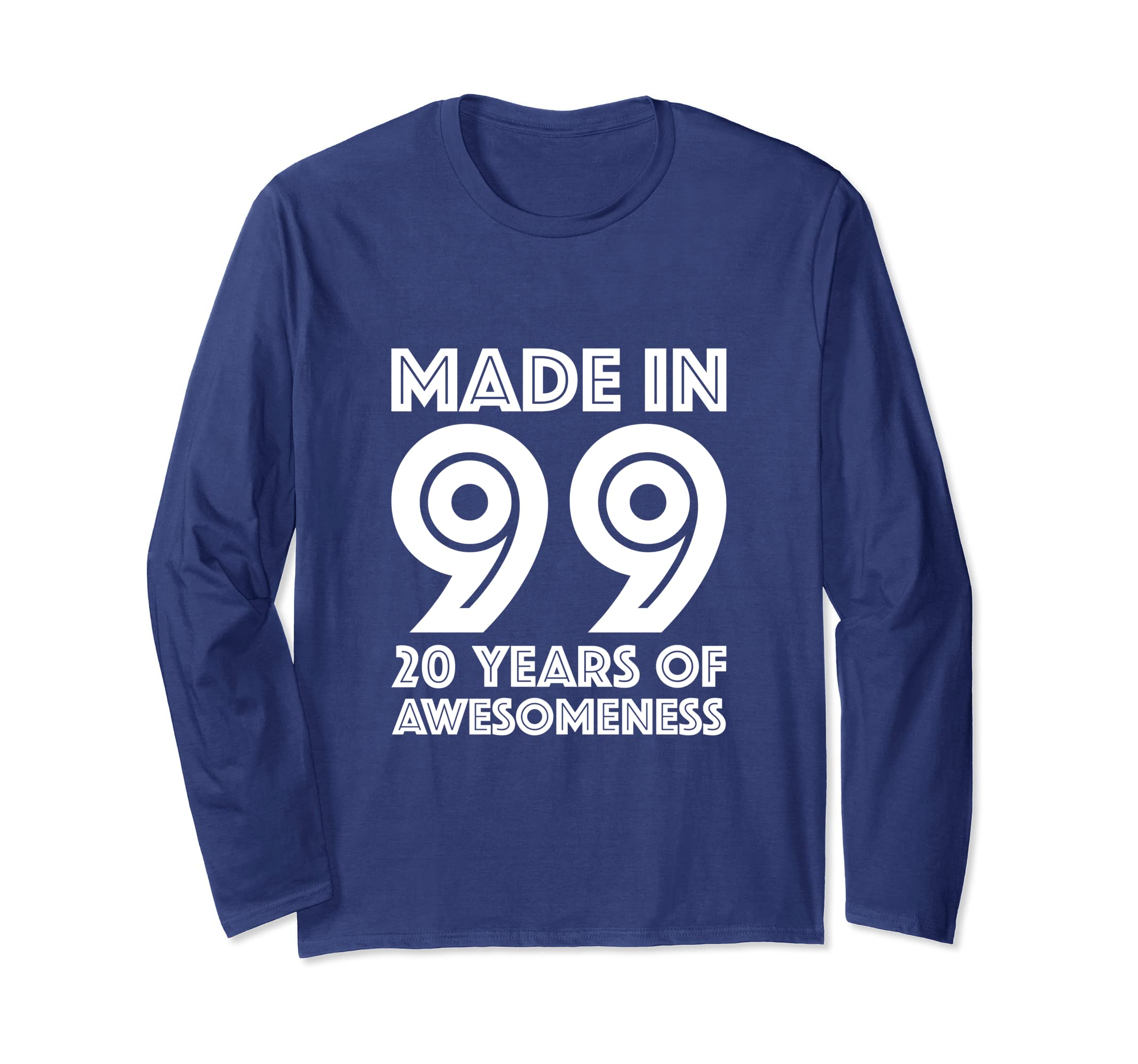 Amazon 20th Birthday Long Sleeve Shirt Boys Gifts 20 Year Old Son Clothing