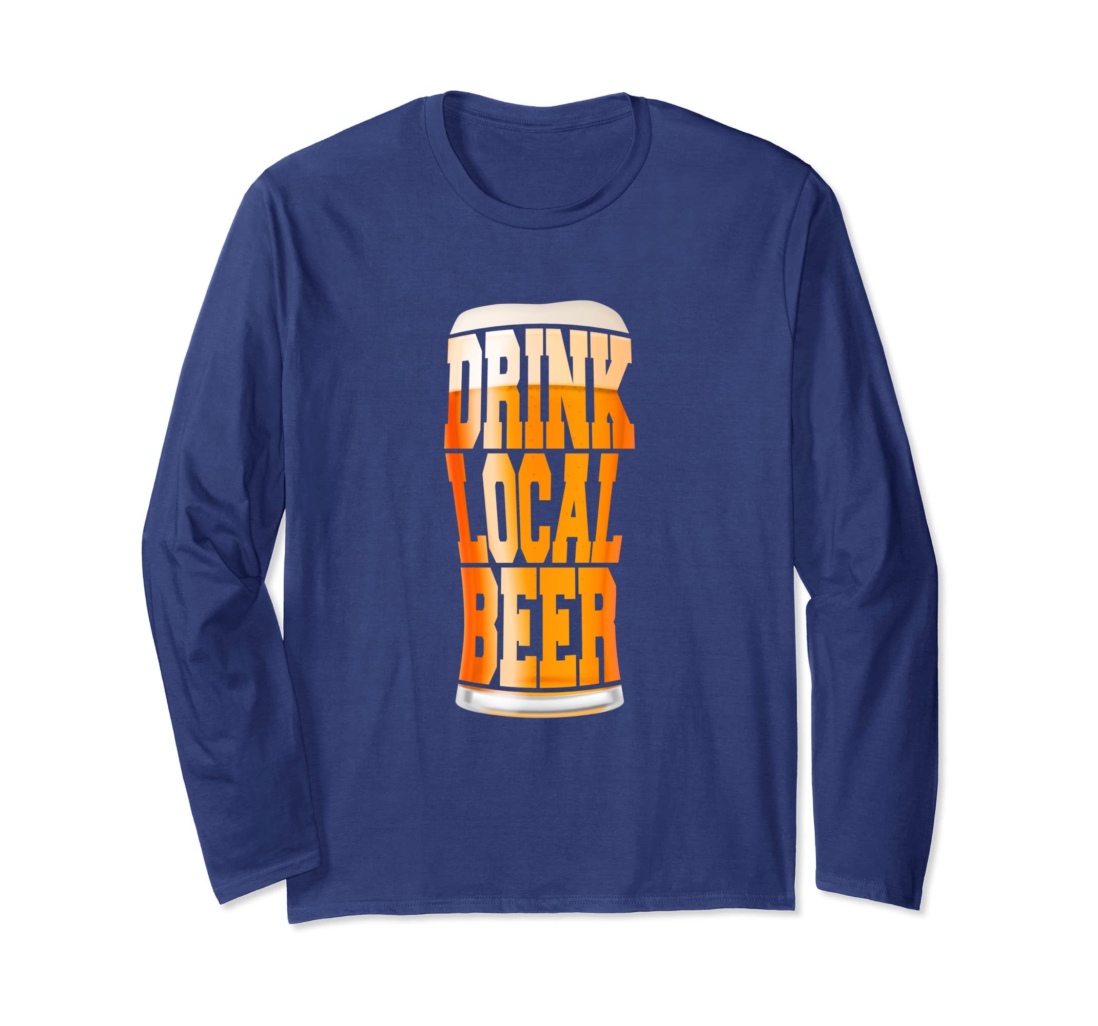 2e7e15f86 Amazon.com: Drink Local Beer Craft Beer Pint T-Shirt: Clothing
