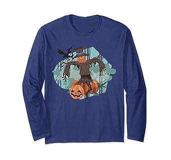 Camiseta manga larga Haloween regalos para mujer hombre