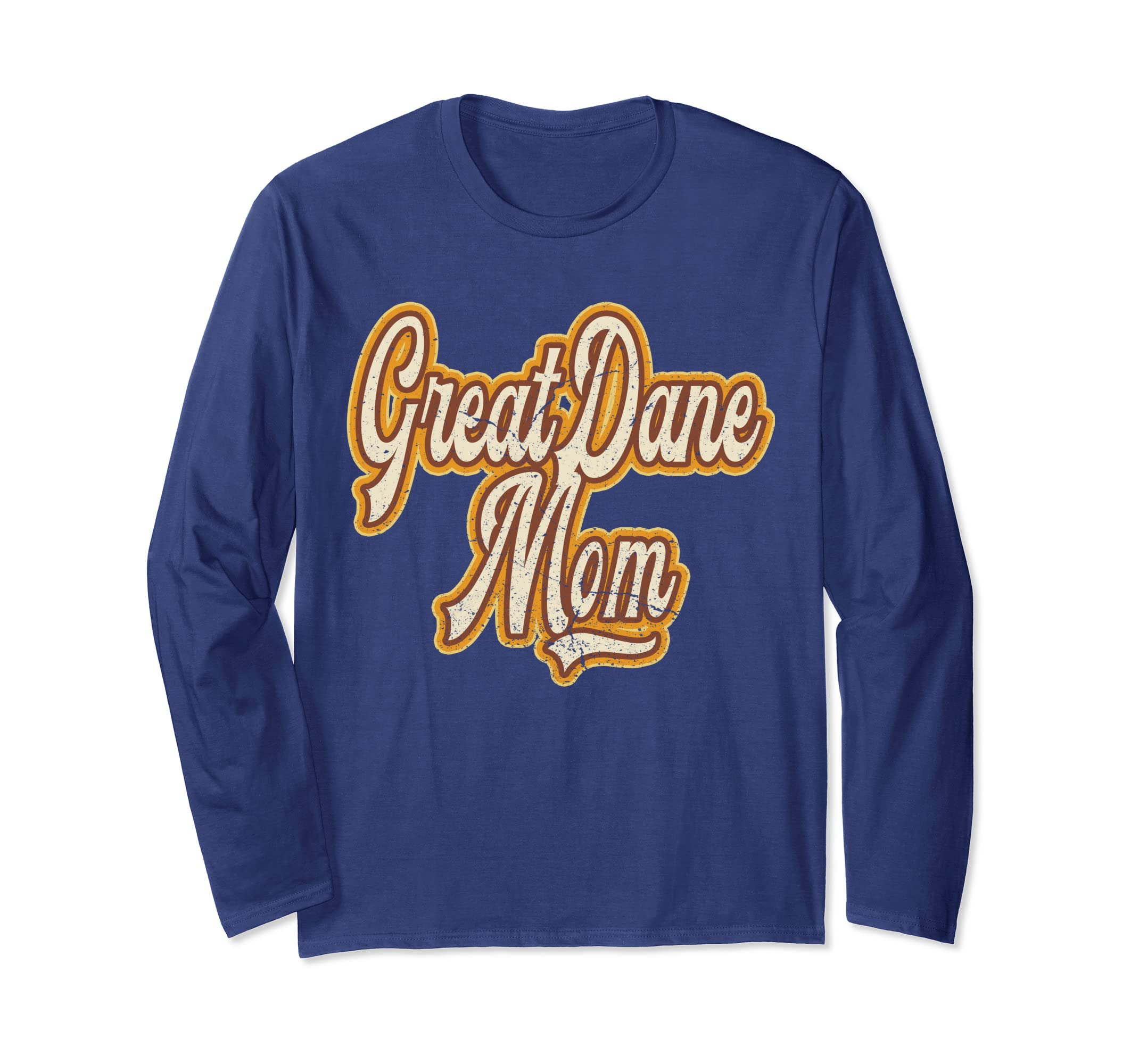 cb3fa344 Amazon.com: Great Dane Mom Funny Dog Shirt Reto Owners Gift: Clothing