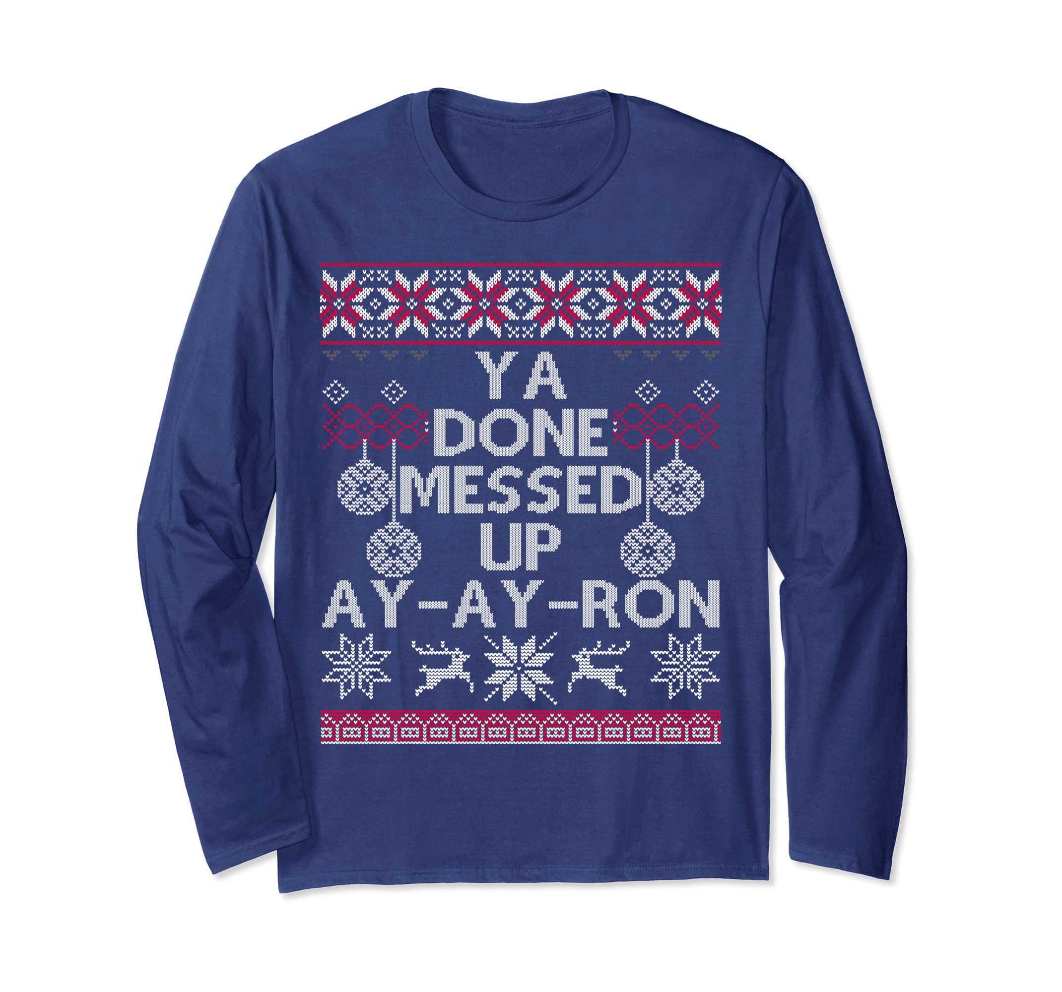 Lil Ron Ron Christmas.Amazon Com Messed Up Ya Have Done A A Ron Ugly Christmas
