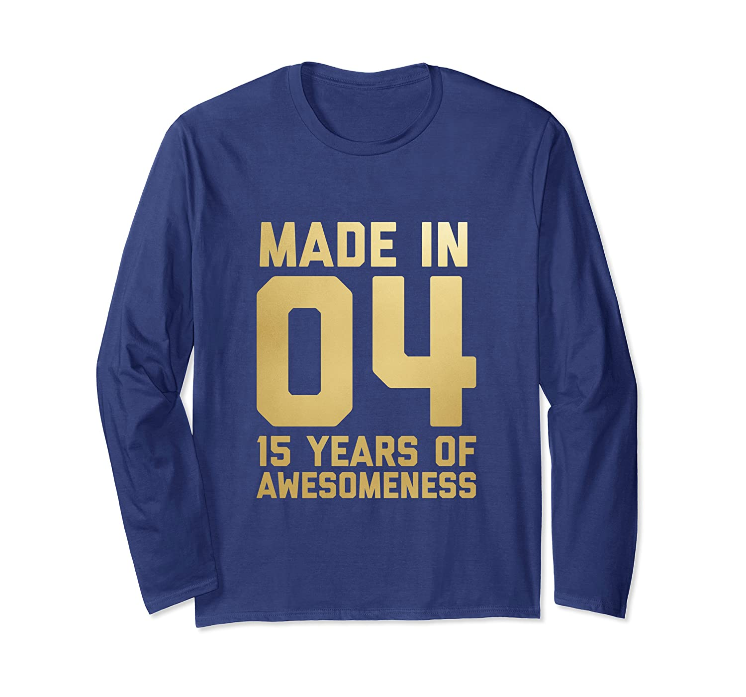 Amazon 15th Birthday Long Sleeve Girls Gifts 15 Year Old Daughter Clothing