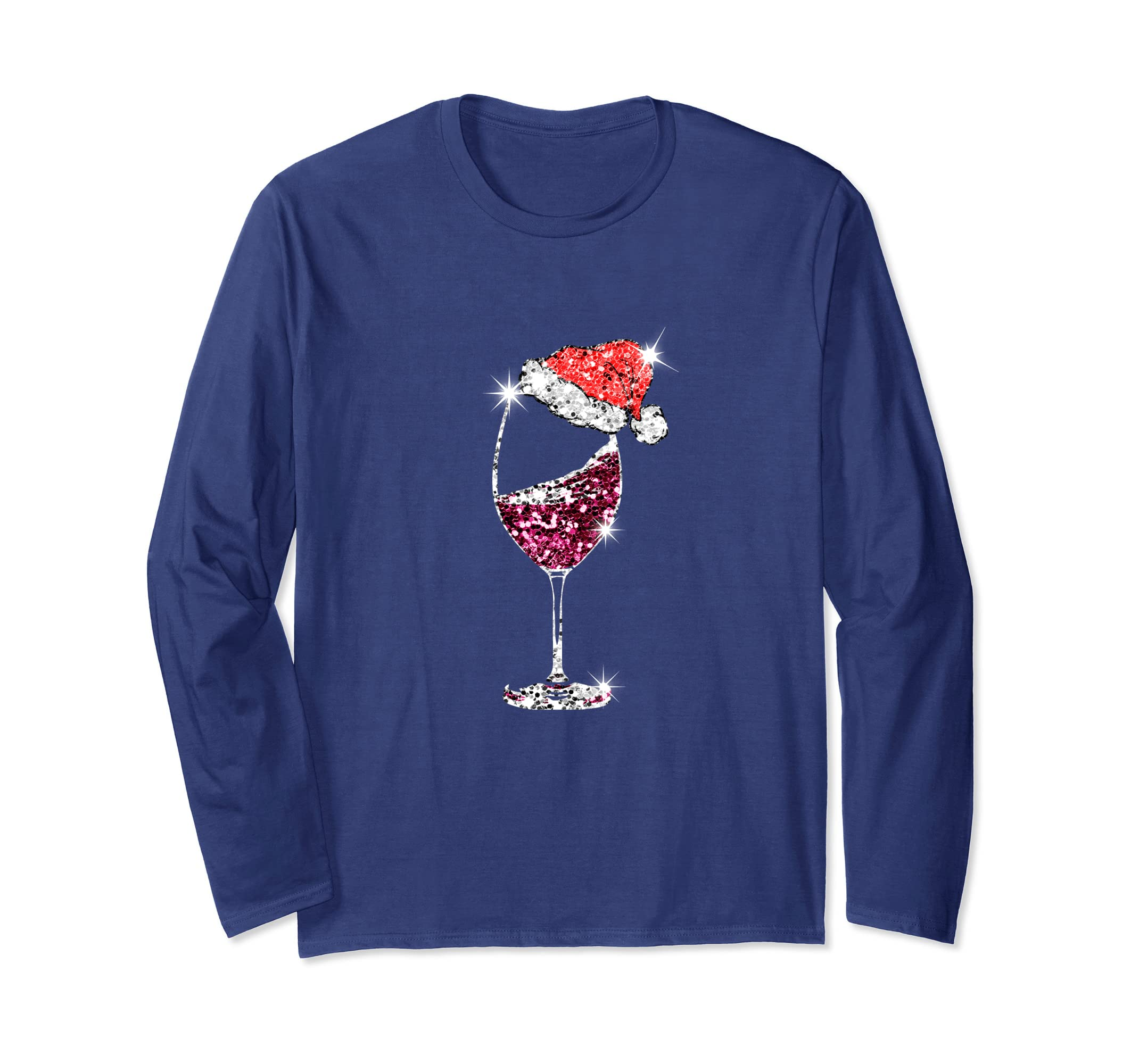 Christmas Wine T-Shirt-ANZ