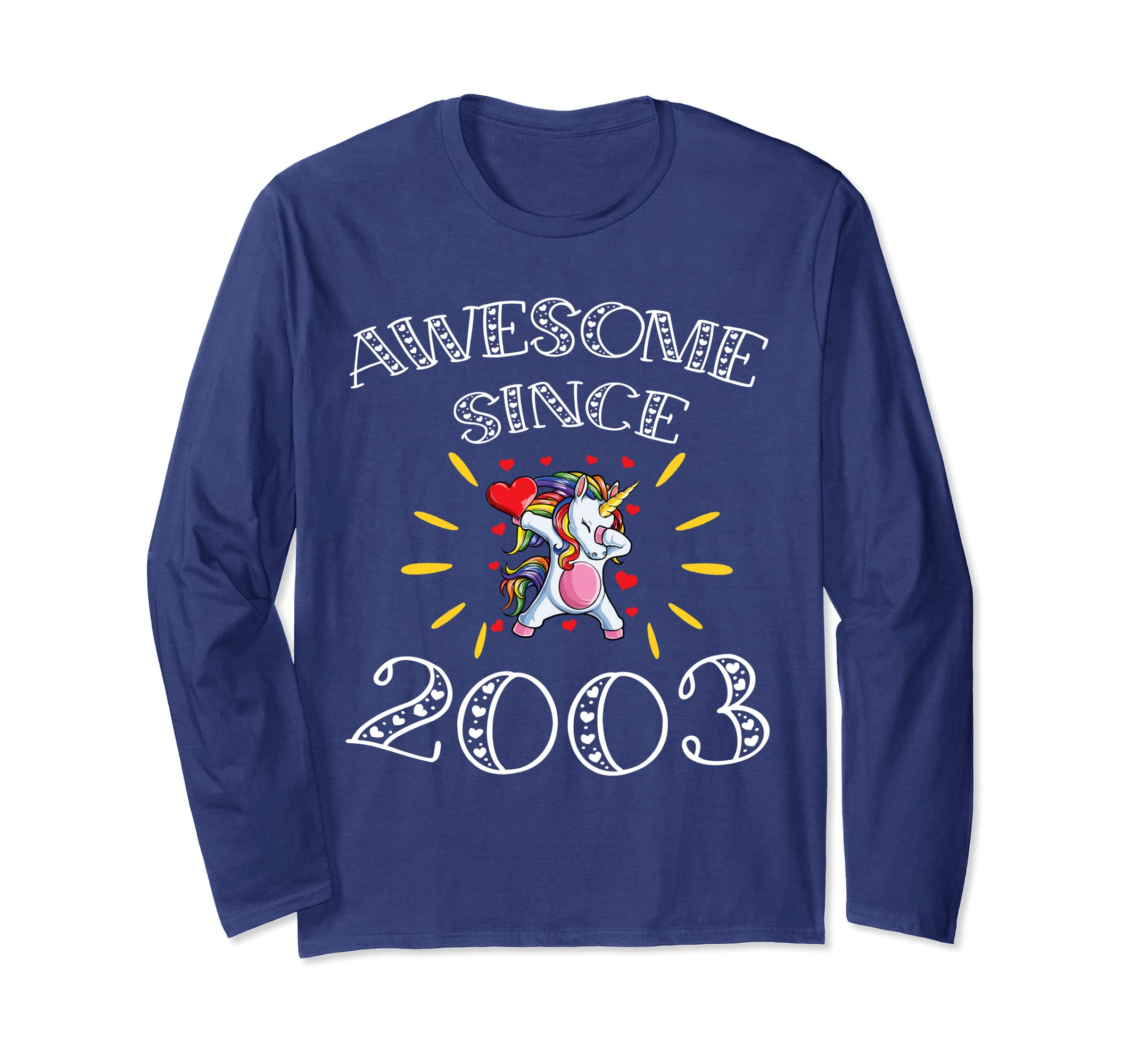 Amazon Awesome Since 2003 Gift Ideas T Shirt 16th Birthday Clothing