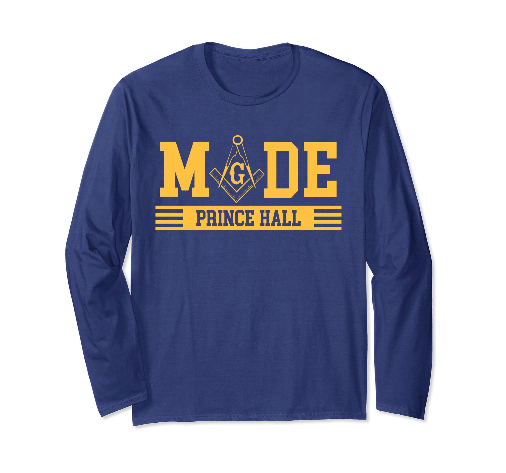 Amazon com: Freemason- MADE PRINCE HALL Long Sleeve T-Shirt Gift