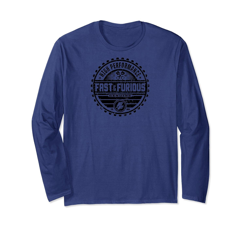 Fast Furious Classic Garage Logo Ted Shirts Long Sleeve T-shirt