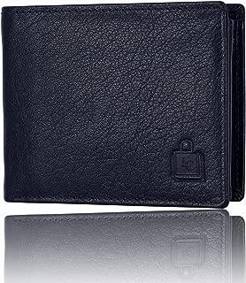 Le Craf Baker Navy Blue Leather Men's Wallet
