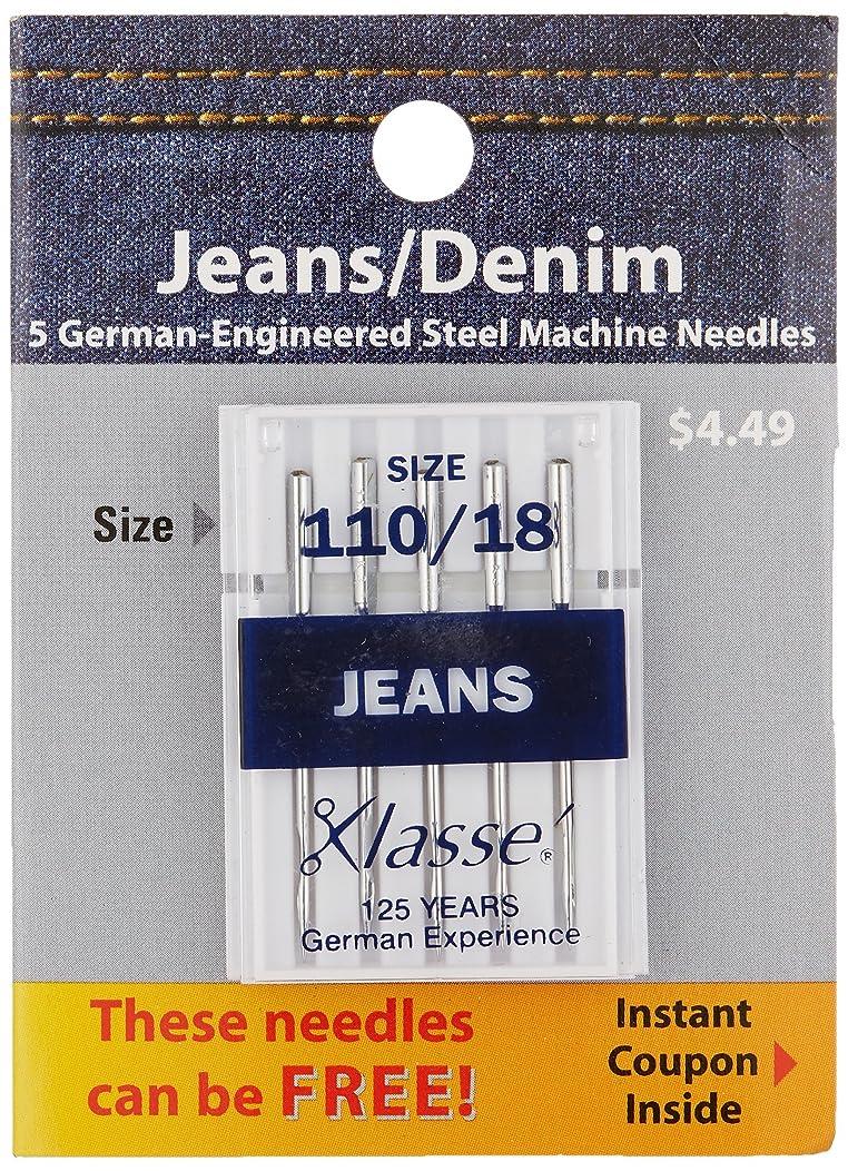 Tacony Corporation A5103-11018  Klasse Jeans/Denim Machine Needles-110/18 5/Pkg