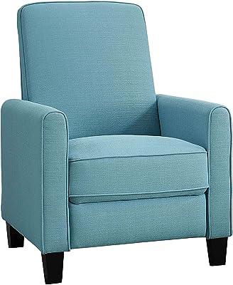 Astounding Amazon Com Contemporary Dalton Fabric Recliner Club Chair Customarchery Wood Chair Design Ideas Customarcherynet